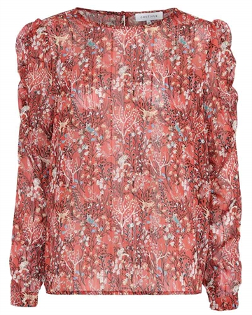 Continue Cph Lilly Bluse Rust