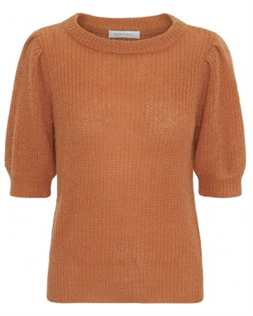 Continue Cph Sille Strik Bluse Orange