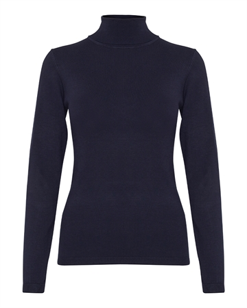 ICHI Mafa Turtle Neck Navy