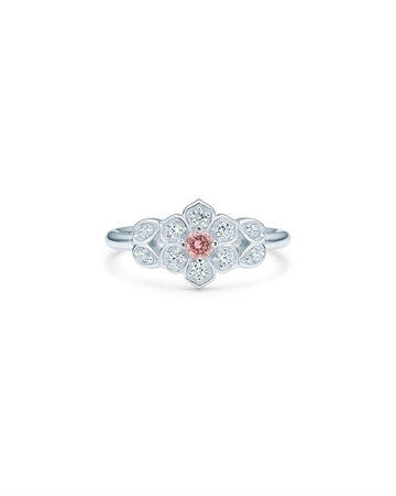Id Fine Magnolia Ring Pink