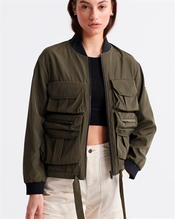 Superdry Namid Pocket Bomber Army