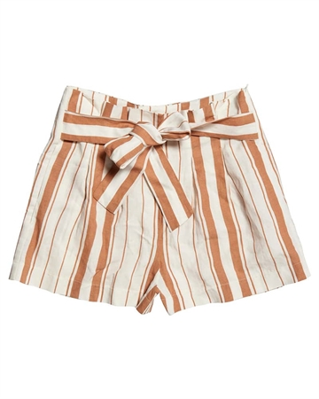 Superdry Desert Stripe Shorts Orange Stribe