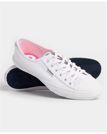 Superdry Low Pro Sneakers Hvid
