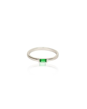 Zefina Green Zela Ring Grøn