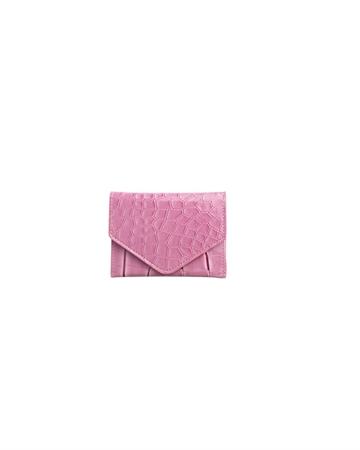 Hvisk Wallet Croco Dusty Pink