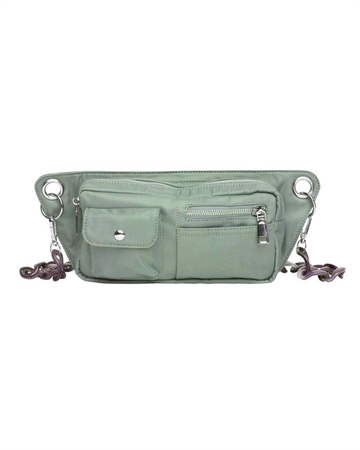 Hvisk Brillay Nylon Taske Dusty Green