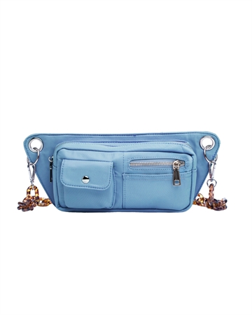Hvisk Brillay Nylon Taske Dusty Blue