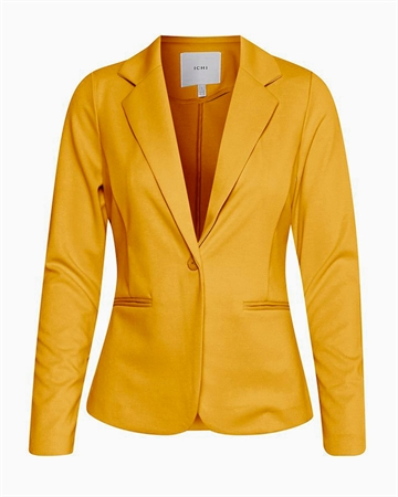 ICHI Kate Blazer Golden Yellow