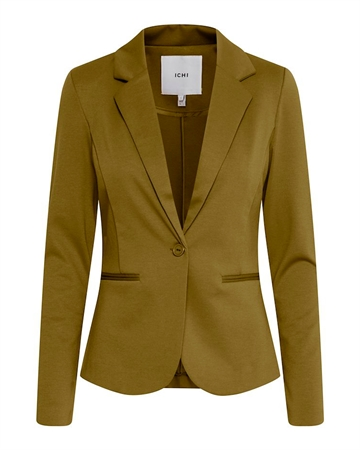 ICHI Kate Blazer Fir Green