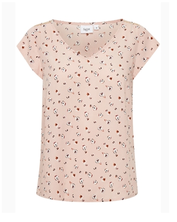 Saint Tropez Bellis SS Top Rosa