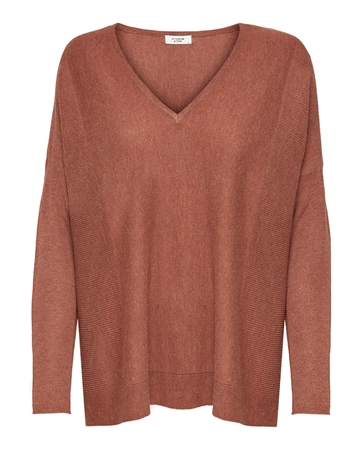 JACQUELINE de YONG New Druna Pullover Smoked Paprika