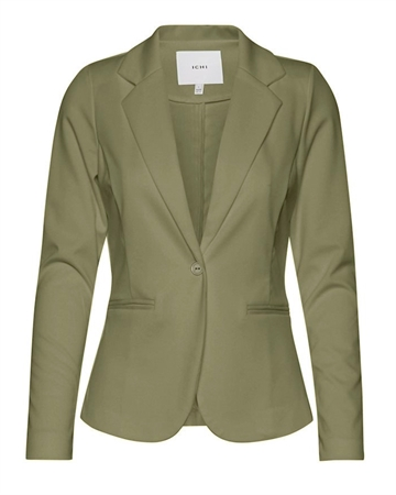 ICHI Kate Blazer Deep Lichen Green