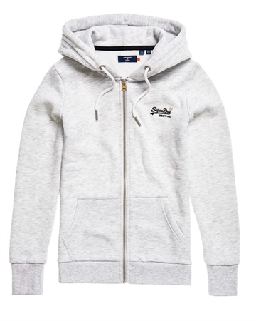 Superdry Orange Label Ziphood Ice Marl