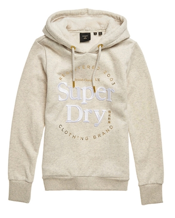 Superdry Established Hood Oatmarl