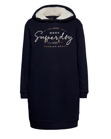 Superdry Established Sweat Dress Navy