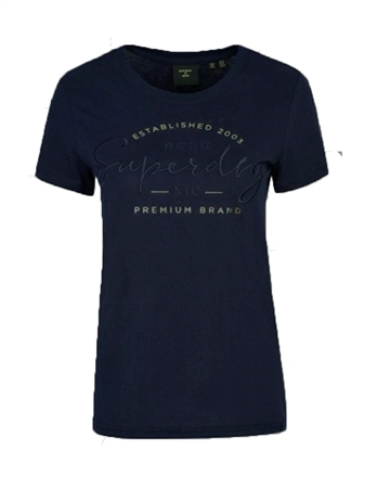 Superdry Established Tee Nautical Navy