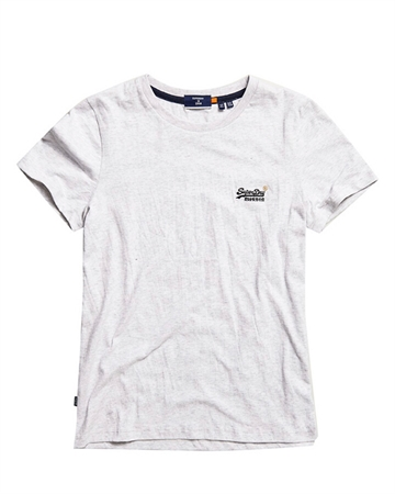 Superdry Orange Label Tee Ice Marl