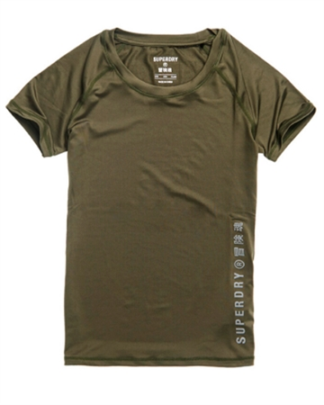 Superdry Sport Training Essential Tee Army