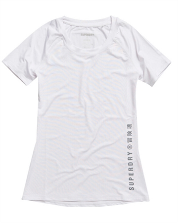 Superdry Sport Training Essential Tee Hvid