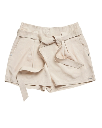 Superdry Desert Paper Bag Shorts Lys Sand