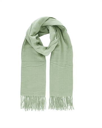 Pieces Kial New Long Scarf Mint