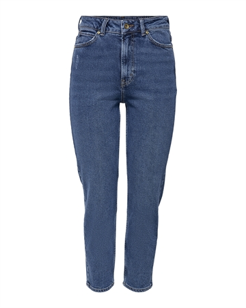 JACQUELINE de YONG Kaja Life High Ankel Jeans Medium Blue