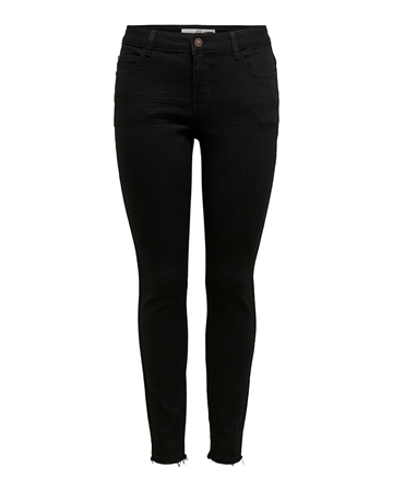 Sonja Life Regular Skinny Jeans Black Denim