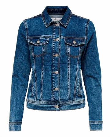 JACQUELINE de YONG Faria Denim Jakke Medium Blue