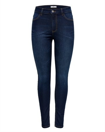 JACQUELINE de YONG Nikki Jegging Dark Blue Denim