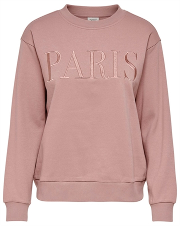 JACQUELINE de YONG Paris Sweat Rosa