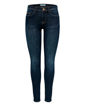Knight Skinny Jeans Dark Blue Denim