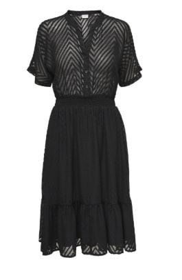 JDY Melina Dress Midi Black Fandango