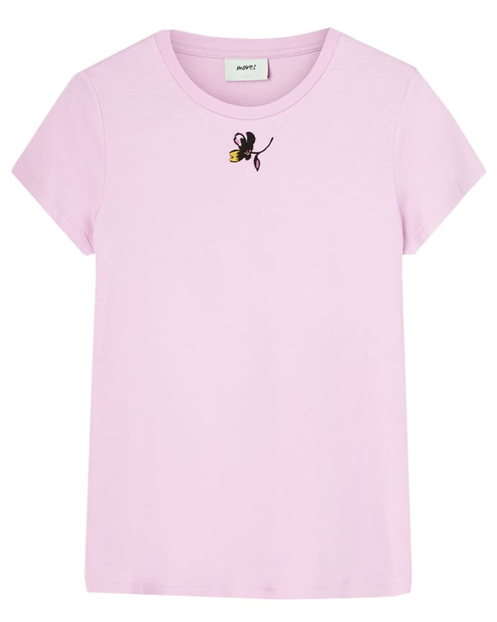 Moves by Minimum Lulu T-shirt Pink