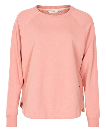 NÜMPH Minta Sweat Bluse Rosa