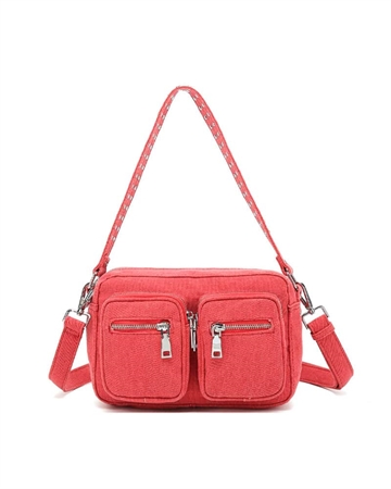 Noella Celina Crossover Taske Red Canvas