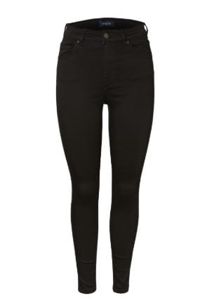 Pieces Nora Ankel Jeans Stay Black