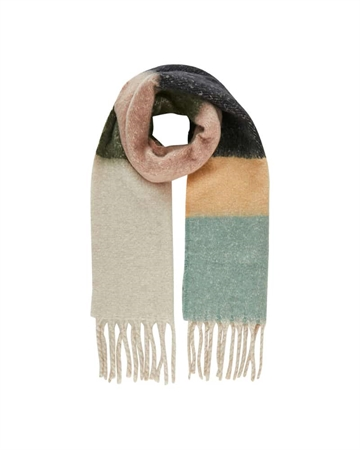 Pieces Bea Long Scarf Natural