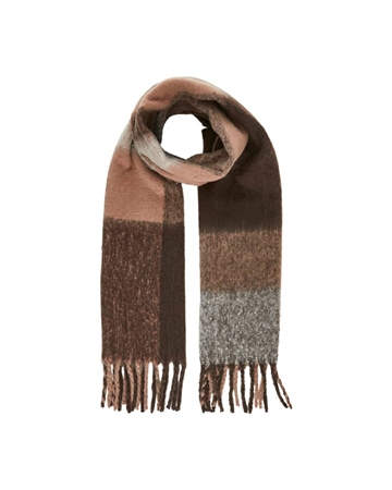 Pieces Bea Long Scarf Whitecap
