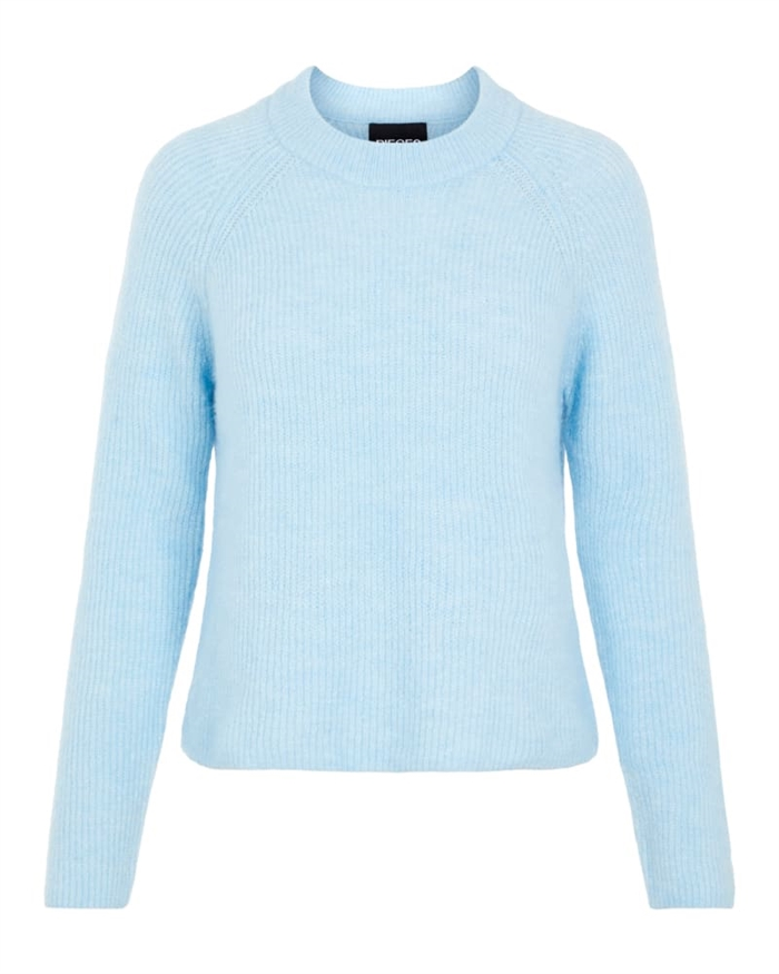 Pieces Ellen Strik Cashmere Blue