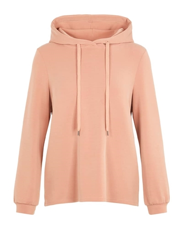 Pieces Rise Hoodie Lounge Warm Taupe