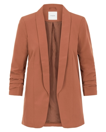 Pieces Boss Blazer Rust