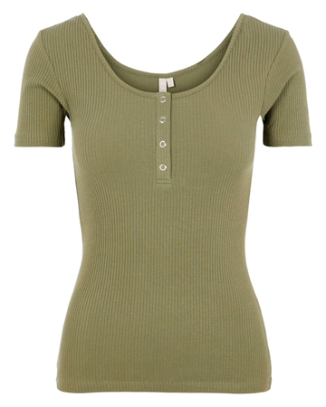 Pieces Kitte Top Lichen Green