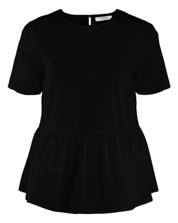 Pieces Mari Top Black