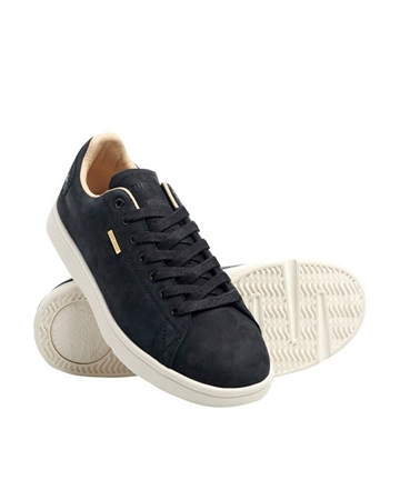 Superdry Premium Vintage Tennis Trainer Sort