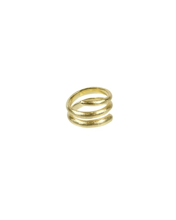 Pure by NAT Spiral Ring Guld