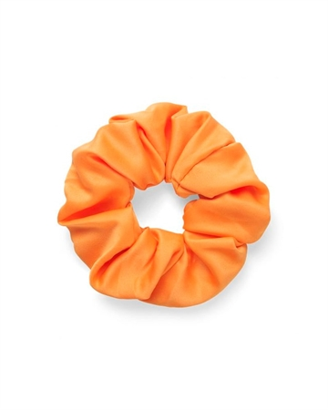 Sui Ava Satin Scrunchie Orange