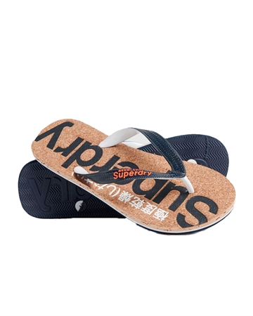 Superdry Cork Flip Flop Navy