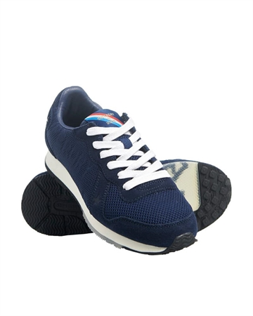 Superdry Retro Logo Runner Navy