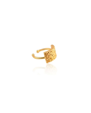 Zefina Square Ring Guld